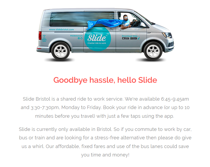 Slide Bristol A Smart Bus For Bristol Silci